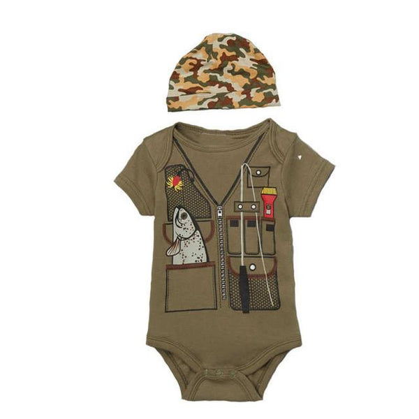 Pilot Uniform Designed Baby Clothes