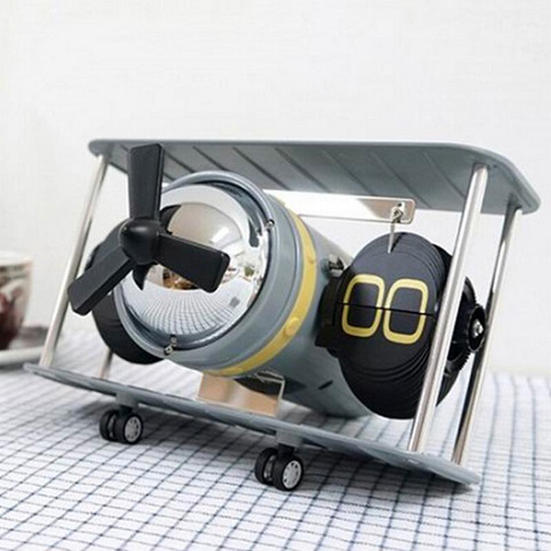 Old Propeller Style Aircraft & Unique Table Clocks Pilot Eyes Store