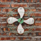 Vintage Style 4 Propeller Designed Wall Clocks