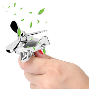 Airplane Shape & Propeller Blades Car Air Freshener