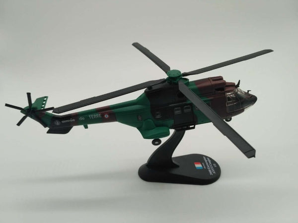 1/72 Scale France 2000 Eurocopter AS532 Cougar Helicopter Model