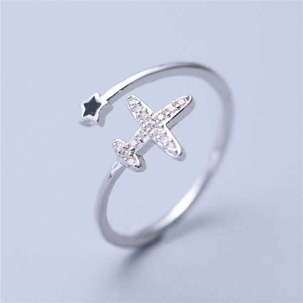 New Fashion & Stylish Airplane Ring