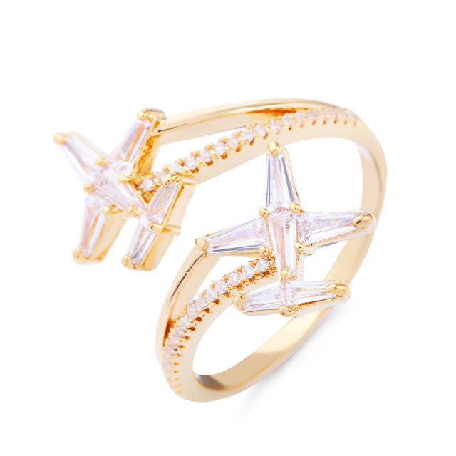 Super Adjustable 2 Airplane Shape Rings