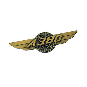 Airbus A380 Designed Vintage Badges