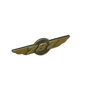 Boeing 787 Designed Vintage Badges