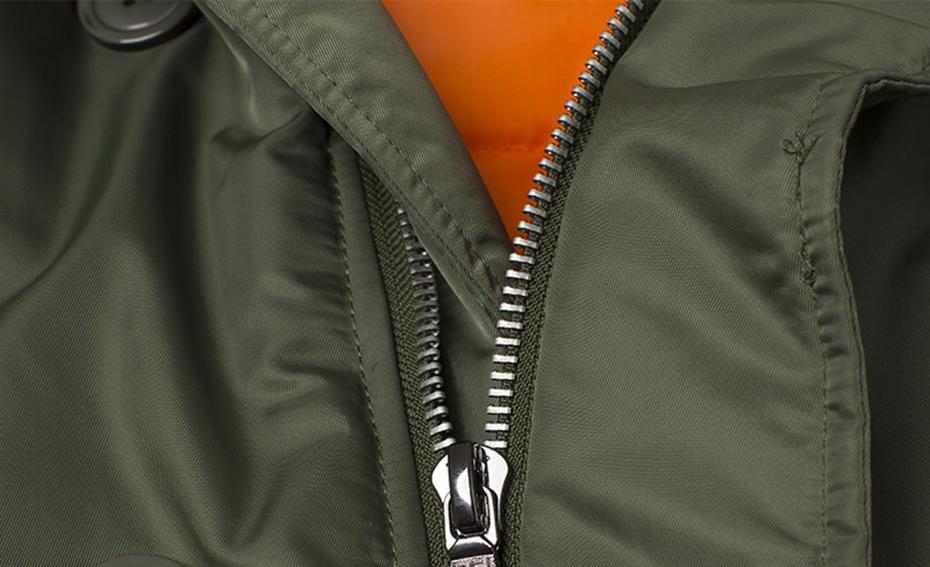 Super Thick Hooded Pilot Bomber Jackets Aviation Shop