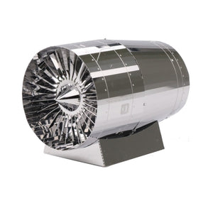 3D Airplane Jet Engine Turbine Model (1:38 Scale)