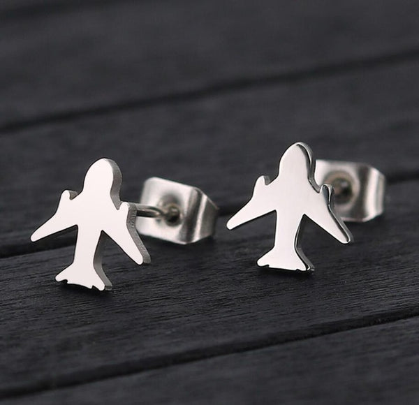 Super Quality & Best Selling Airplane Shape Earrings