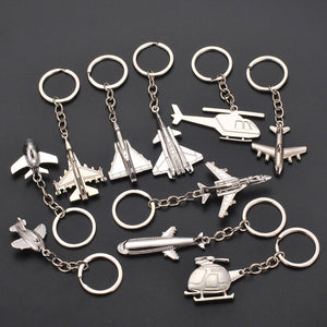 Super Cool Airplane & Helicopter Shape Key Chains