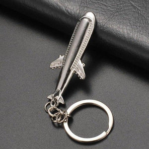 Long Airplane Shaped Key Chains Aviation Shop Default Title