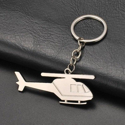 Helicopter Shaped Key Chains Aviation Shop Default Title
