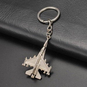 Fighting Falcon F16 Shaped Key Chains Aviation Shop Default Title