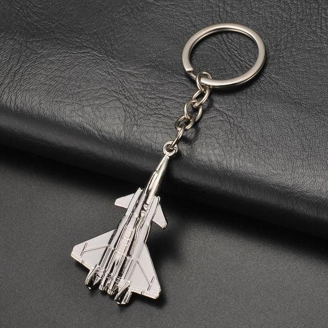 Super Bomber 2 Jet Shaped Key Chains Aviation Shop Default Title