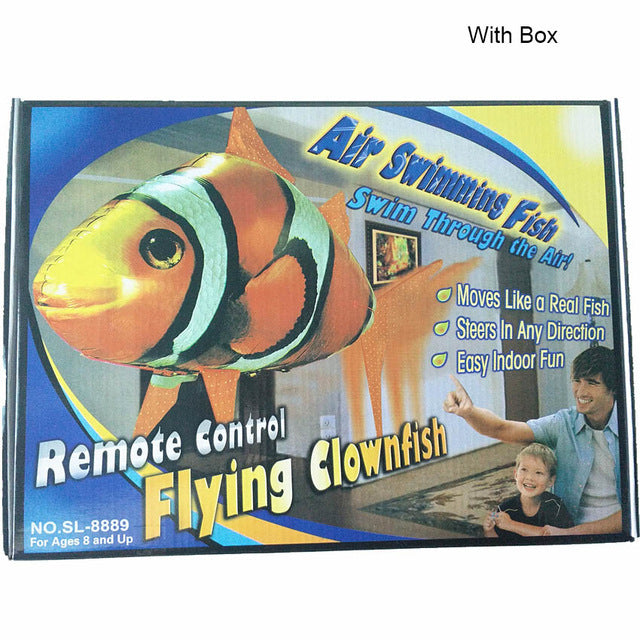 Remote Control Shark & Fish & Plane or Ufo Designed Toy