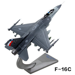 1/72 Scale USA F-16 Fighting Falcon Air Superiority (Handmade) Airplane Model