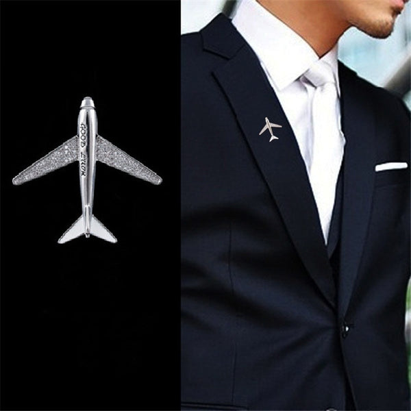 Super Cool Airplane Designed Brooches