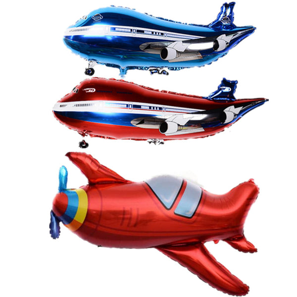 Super Cool Airplane Shape Balloons