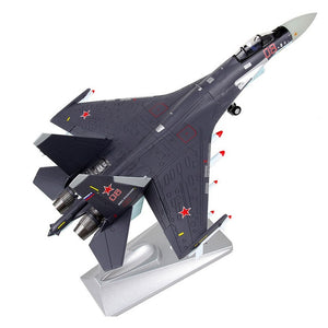 1/72 Scale Sukhoi Su-35 Flanker-E/Super Flanker Airplane Model