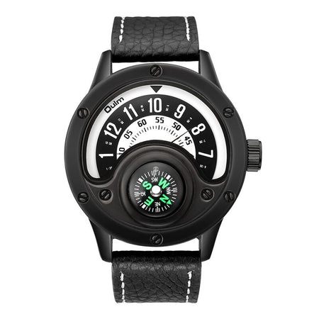 Super Cool Aviator Watch with Compass Feature