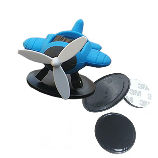 SOLAR Energy Mini Rotating Decoration Airplanes & Helicopters