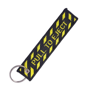 Pull To Eject 2 Designed Key Chain