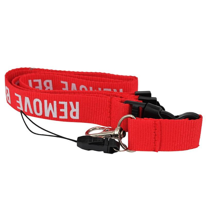 Remove Before Flight Designed Lanyard