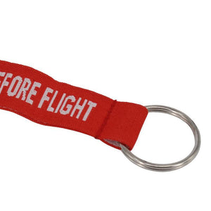 Remove Before Flight Key Chain & Safety Tag