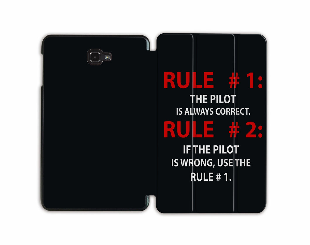 Rule 1: Pilot Is Always Correct Designed Samsung Cases