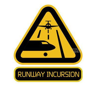 Runway Incursion Designed Stickers