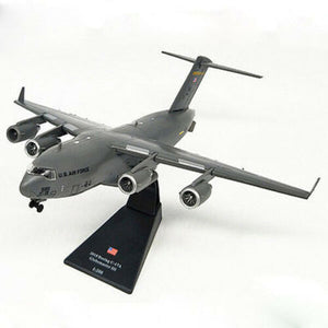 1/200 Scale USA C-17 Globemaster III Military Airplane Model