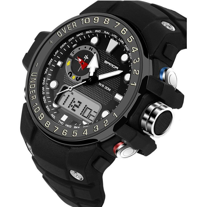 S-Shock Digital LED PILOT Watches