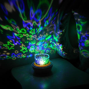 Sky & Earth Designed 3D LED Projector Night Light & Lamps