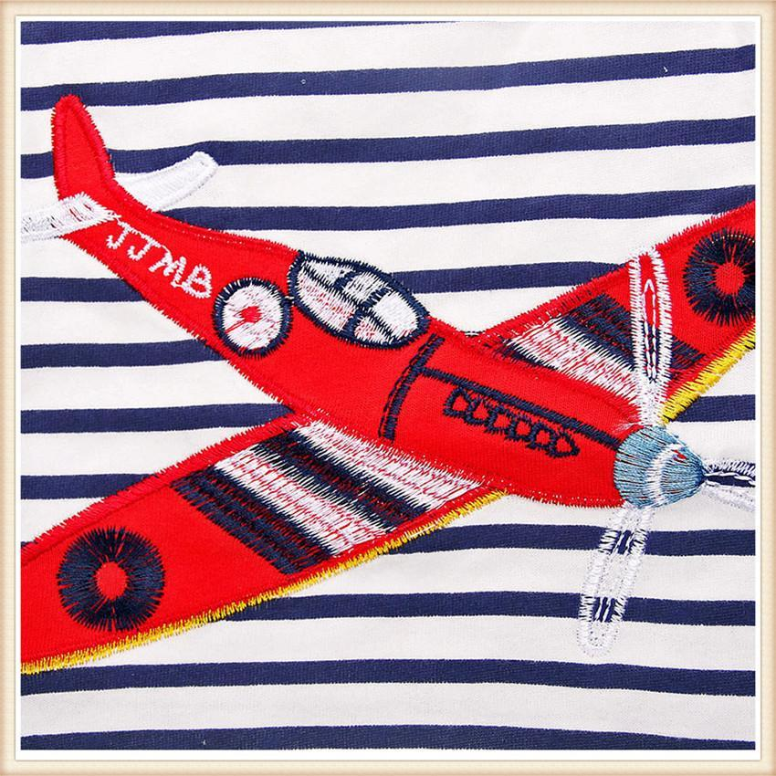 Striped & Airplane Printed Cotton Babies & Kids Clothes