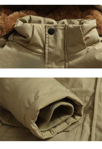 Thick Fleece & Hooded Military Pilot Designed Parkas & Jackets