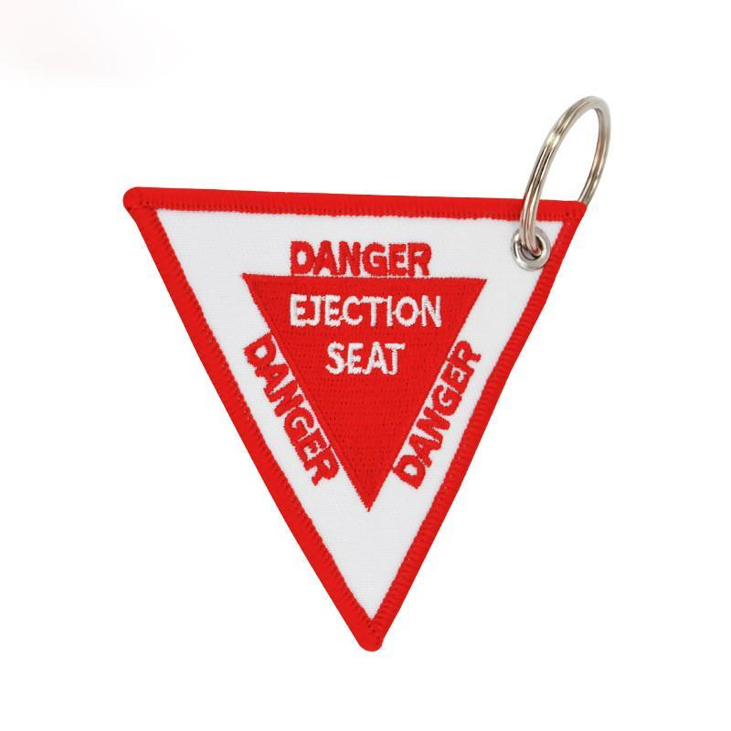 Triangle Ejection Seat Designed Key Chains