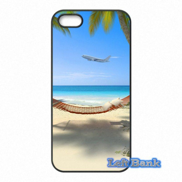 Tropical Island And Airplane Departure HTC Cases