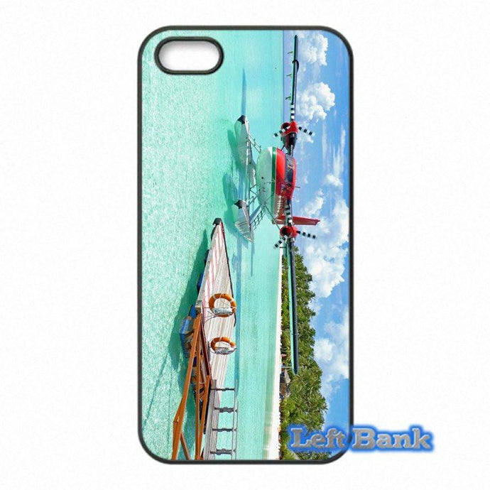 Twin Oliver Airplane & Tropical Island HTC Cases