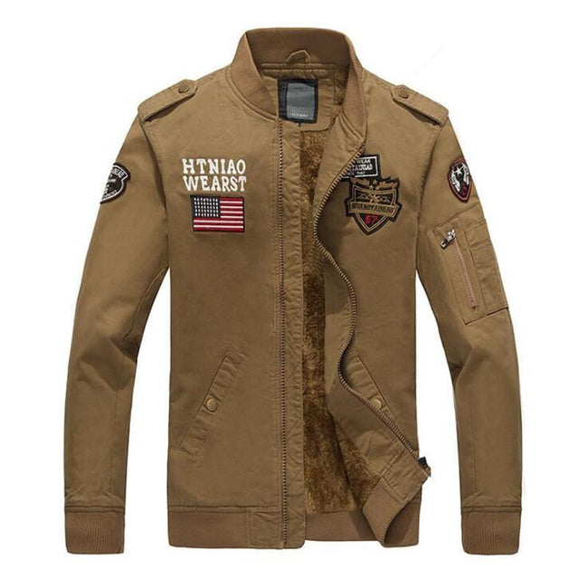 US Flag Bomber Pilot Cotton Jackets