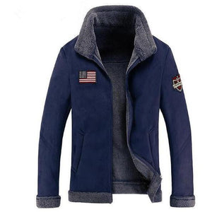 US Flag & Navy Pilot Bomber Jackets