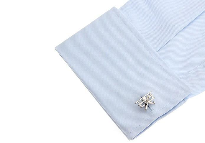 Vintage Aircraft Shaped Cuff Links