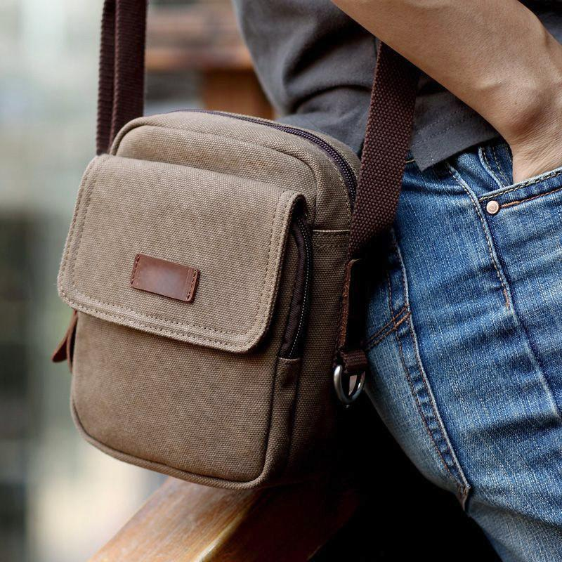 Vintage Small Messenger Shoulder Bag