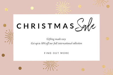Christmas Sale - Up to 50% Off