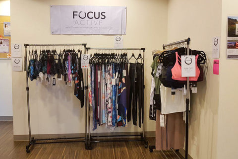 FOCUS ACTIVE ACTIVEWEAR POP UP LAVA YOGA SINGAPORE