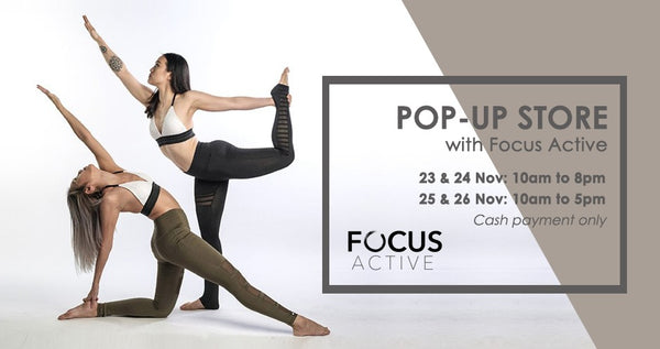 Lava Yoga Activewear Pop-Up | Focus Active | Shop Best Activewear Singapore