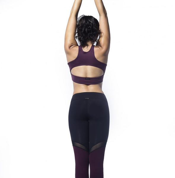 Empower (Bordeaux) | Theia - Focus Active, Shop Best Activewear Singapore, Affordable Activewear