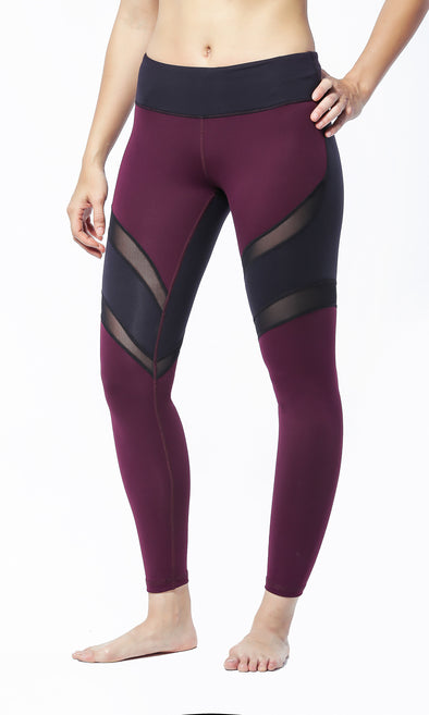 JOSEPHINE (Bordeaux) | Theia - Focus Active, Shop Best Activewear Singapore, Affordable Activewear