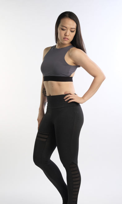 Hannah Holloback Bra (Grey) | Rangoon - Focus Active, Shop Best Activewear Singapore, Affordable Activewear