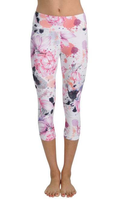 Asian Garden | SUP Yoga Capri | JALA - Focus Active, Shop Best Activewear Singapore, Affordable Activewear