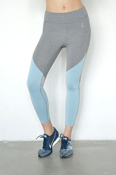 Victoria Triple Colour Block Legging | Liberty Active - Focus Active, Shop Best Activewear Singapore, Affordable Activewear
