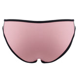 CHARLIE - Pink/Grey neoprene two-piece Crop Top Set with black binding